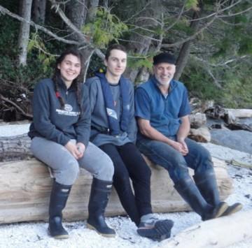 Rosalie, Sebastian, and Guy